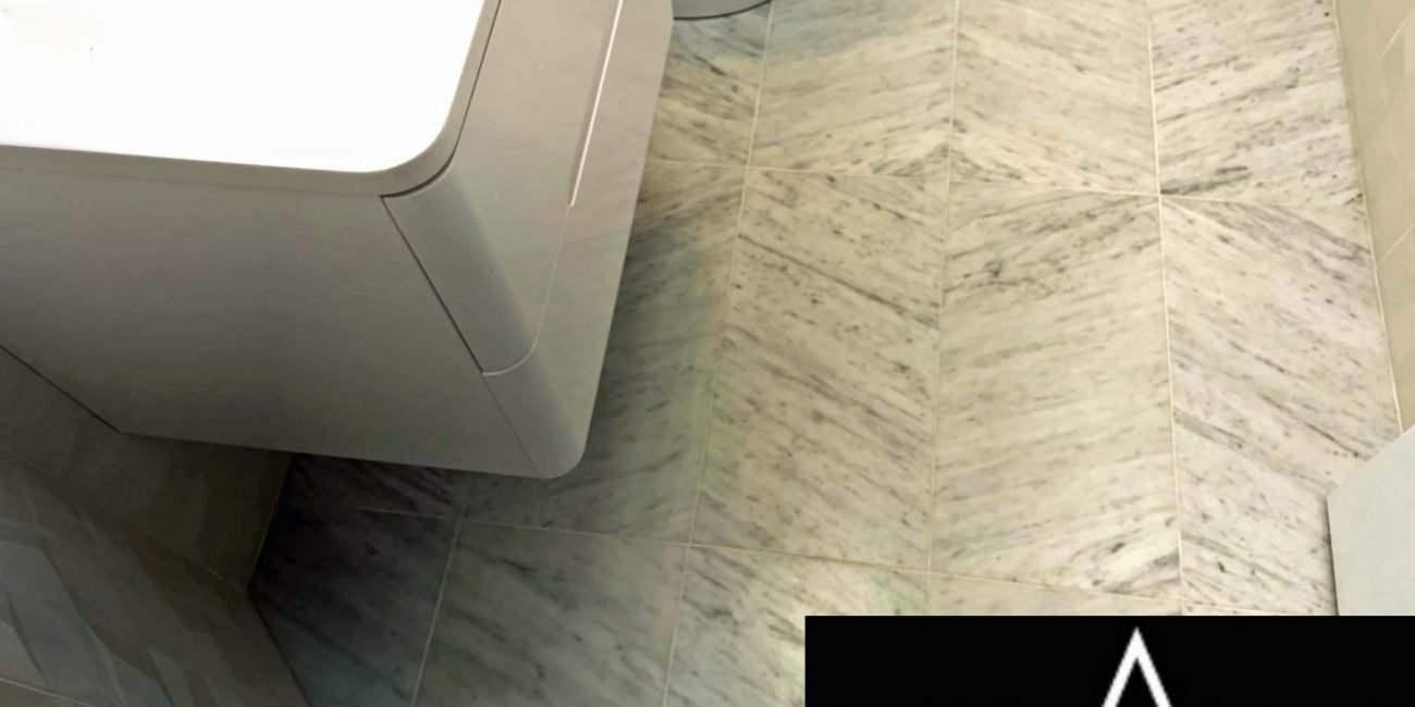 Powder Room Remodel (Modern) | Glenelg, MD