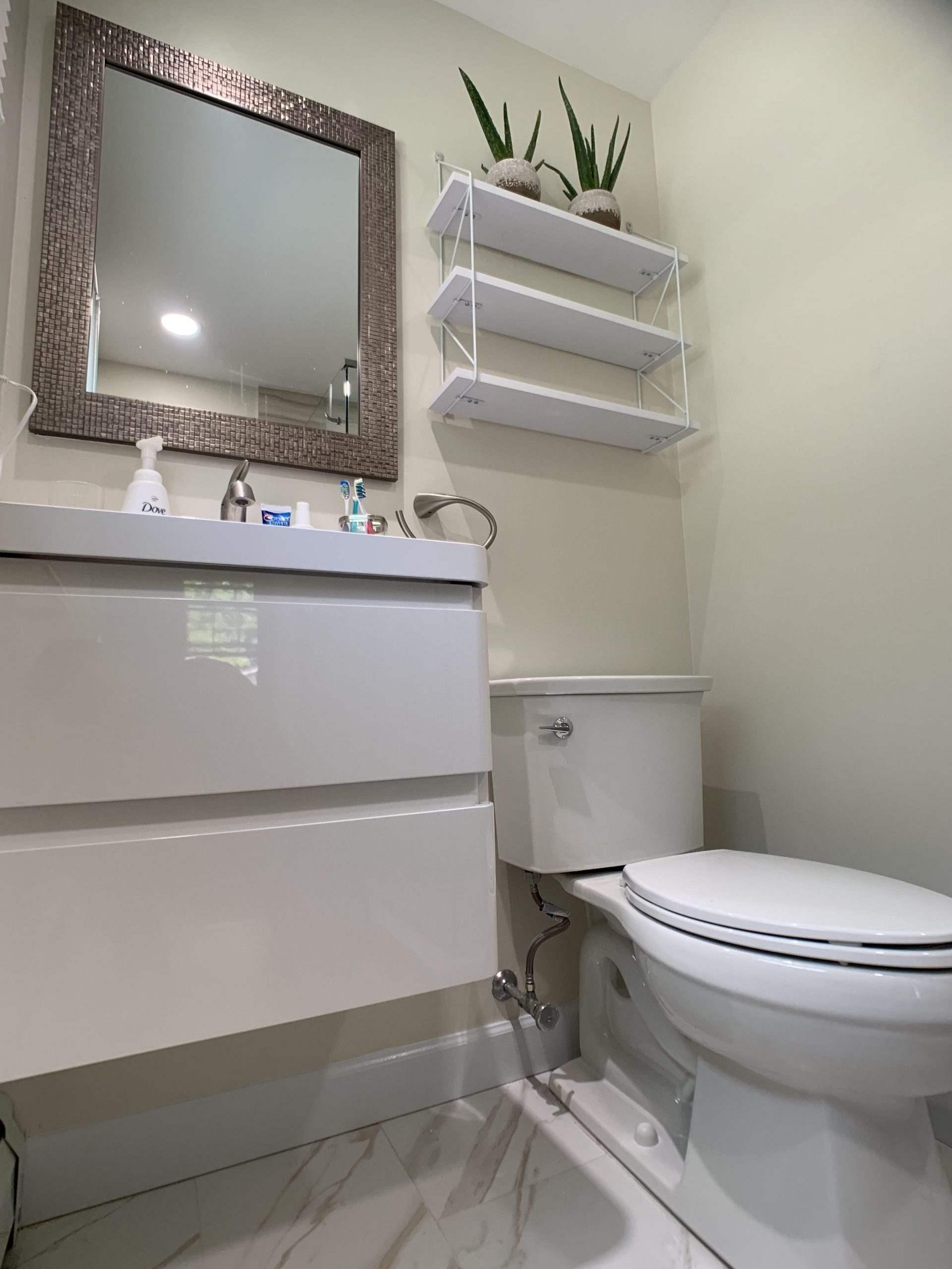 Finksburg, MD Master Bathroom and Powder Room for Mark