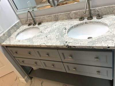 Bathroom Remodel (Italian Marble) | Ellicott City, MD