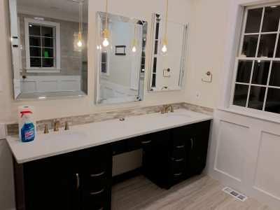 Hampton, MD Master Bathroom for Melanie