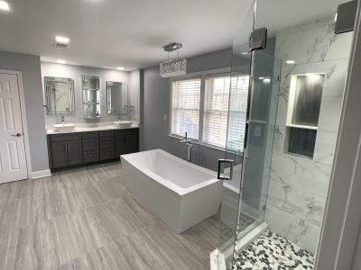 West Friendship, MD Master Bathroom for Ms Sharon